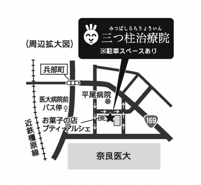 院周辺地図