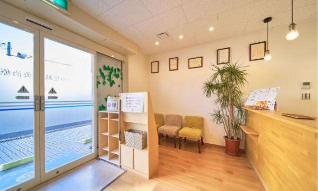 「三つ柱治療院」の院内の様子