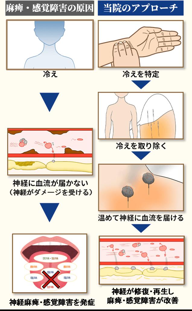 味覚障害の原因と当院のアプローチ